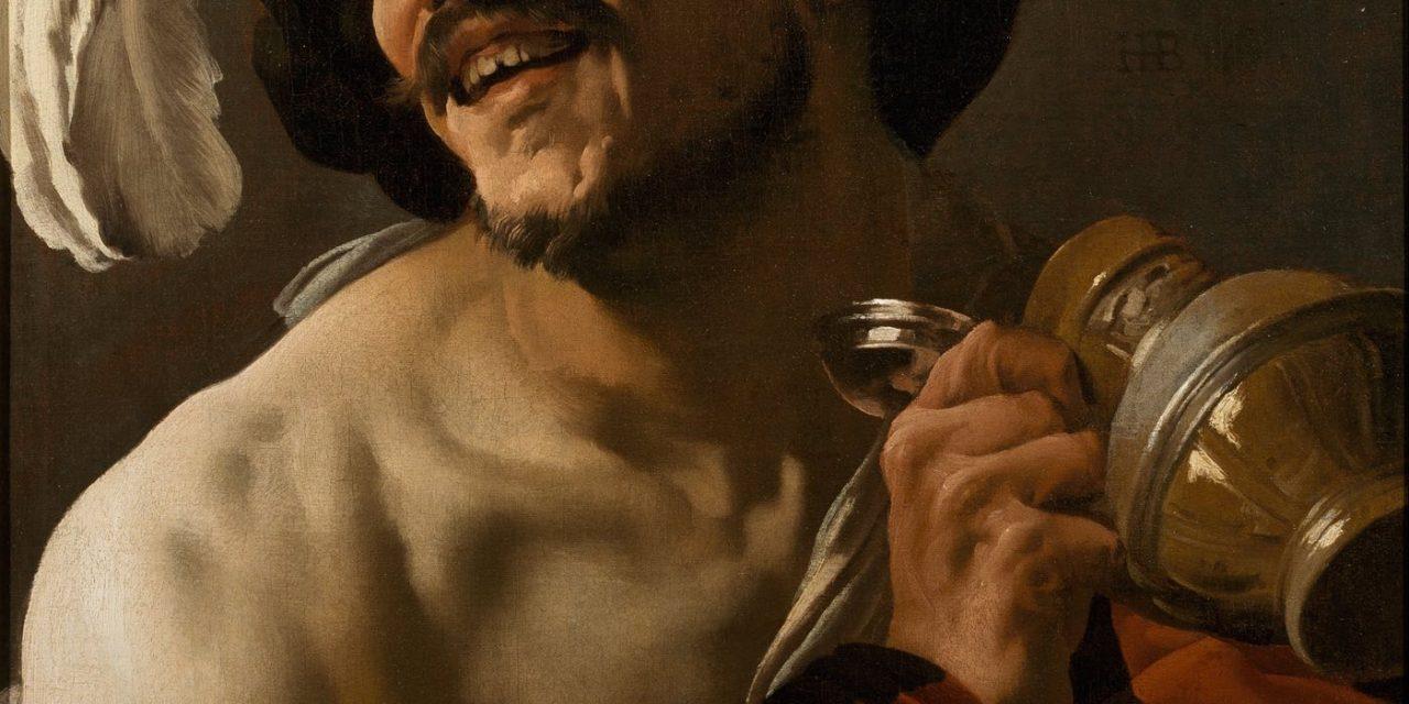 """""""The Merry Drinker"""" (1625), de Hendrick ter Brugghen"""