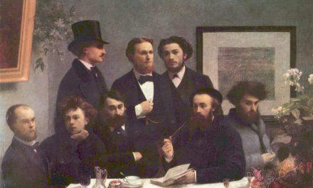 """""""Un rincón de la mesa"""" (1872), de Henri Fantin-Latour"""