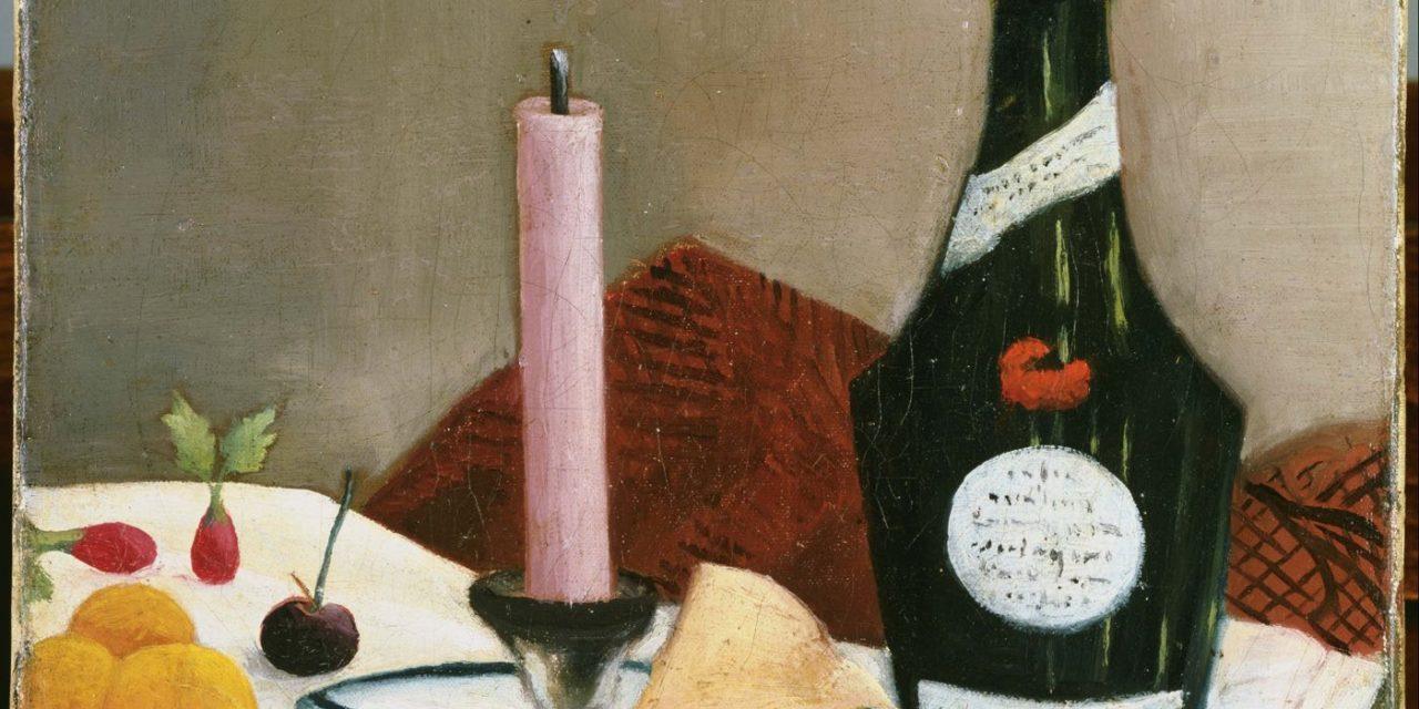 """""""The Pink Candle"""" (1908), de Henri Rousseau"""
