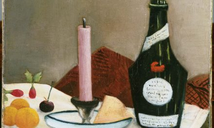 """The Pink Candle"" (1908), de Henri Rousseau"