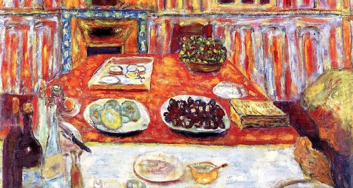 """Interior – Dining Room"" (1942-1946), de Pierre Bonnard"