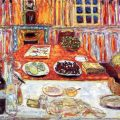 Interior- Dining Room : Pierre Bonnard - 1942-1946