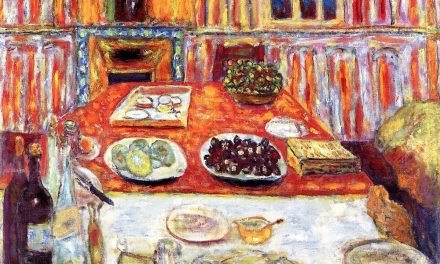 """Interior – Dining Room"" (1942-1946), de Pierre Bonnard"