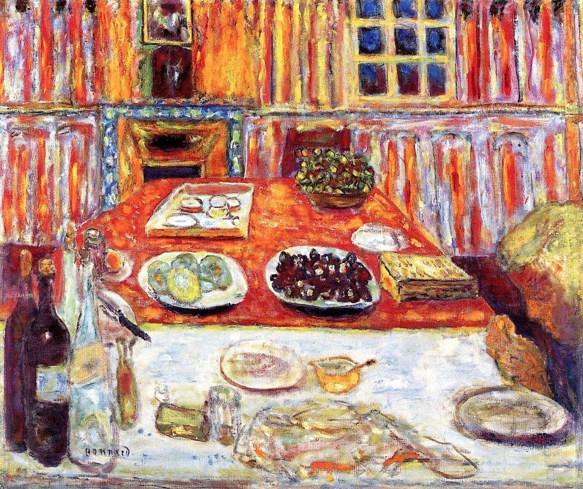 Interior- Dining Room : Pierre Bonnard - 1942-1946