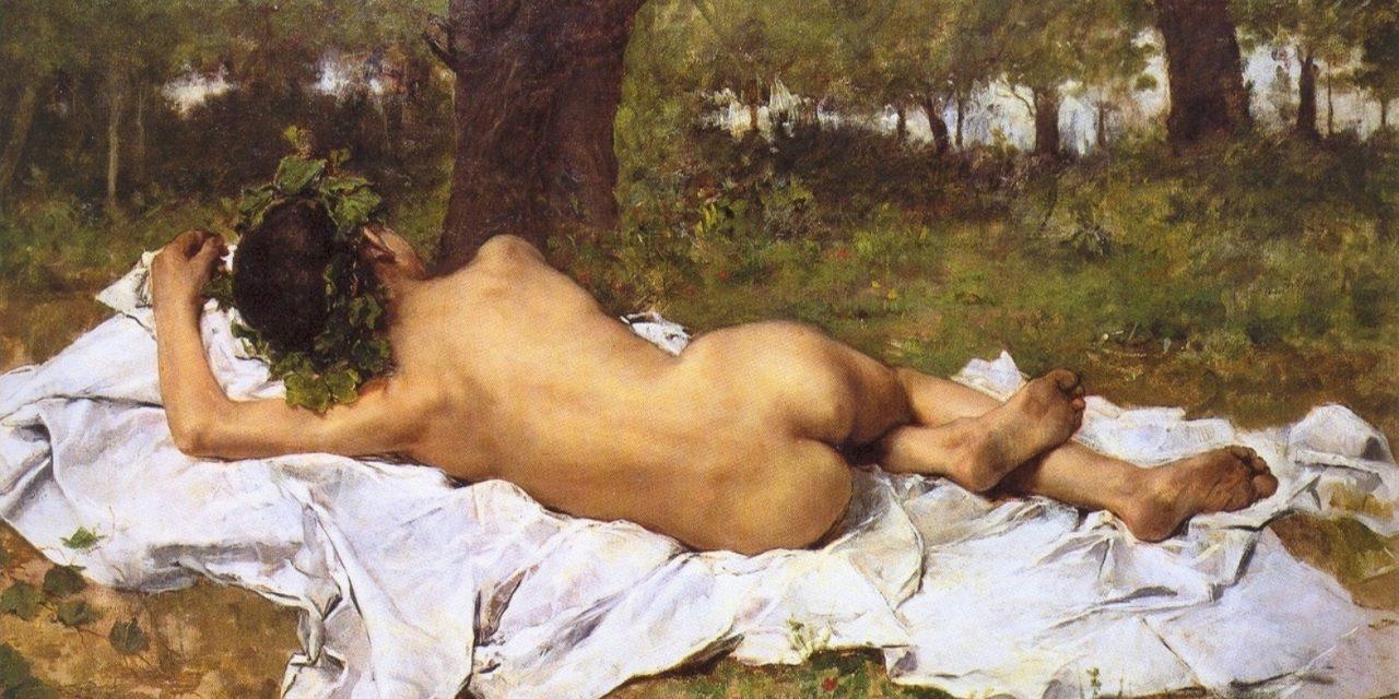 """Baco Joven"" (1872), de Joaquín Agrasot"