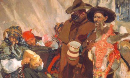 """""""Aldeanos leoneses"""" (1907), de Joaquín Sorolla"""