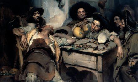 """""""Os Bêbados"""" (1907), de José Malhoa"""
