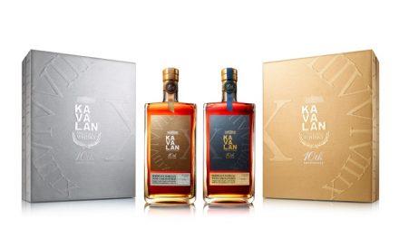 Kavalan cumple 10 años con dos whiskies de edición limitada