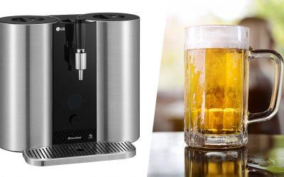 LG presenta un sistema de cerveza artesanal con cápsulas, LG HomeBrew