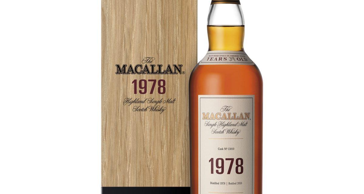"""Macallan 1978 se une a la colección """"Fine & Rare"""""""