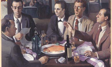 """""""Mesa de café"""" (1927), de Roberto Fernández Balbuena"""