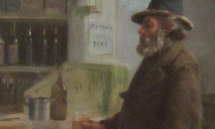 """""""El parroquiano"""" (antes de 1892), de Juan Mochi"""