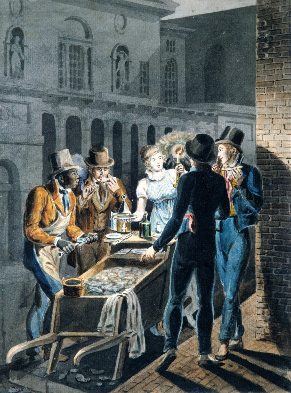 Nightlife_in_Philadelphia—an_Oyster_Barrow_in_front_of_the_Chestnut_Street_Theater_MET_ap42.95.181