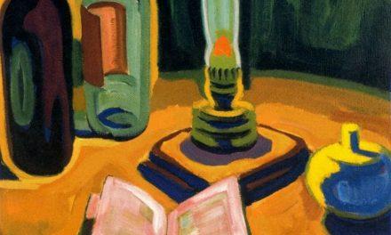 """""""Osterstrauss"""" (1947), de Karl Schmidt-Rottluff"""