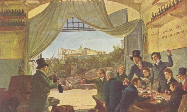 """Escena de taberna"" (1820), de Peter von Cornelius"