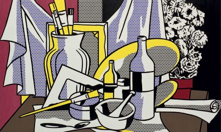 """Still Life with Palette"" (1972), de Roy Lichtenstein"