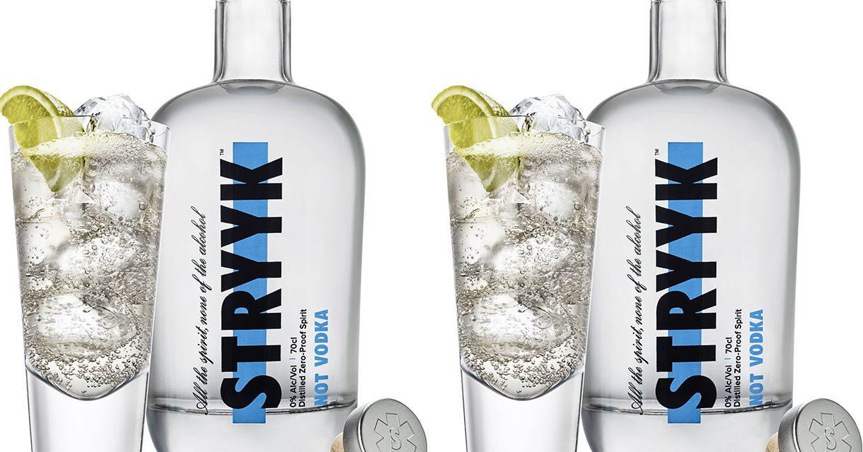 Stryyk debuta con un producto sin alcohol, Stryyk Not Vodka