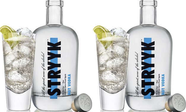 Stryyk debuta con un producto sin alcohol, Stryyk Not Vodka