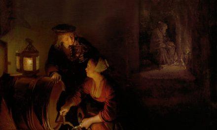 """""""La bodega"""" (1660), de Gerard Dou"""
