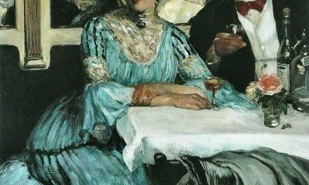 """""""Chez Mouquin"""" (1905), de William Glackens"""