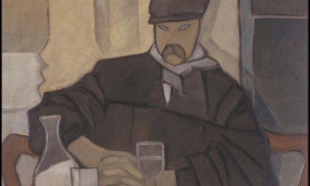 """""""Hombre en el café, Atocha"""" (1923), de Rafael Barradas"""