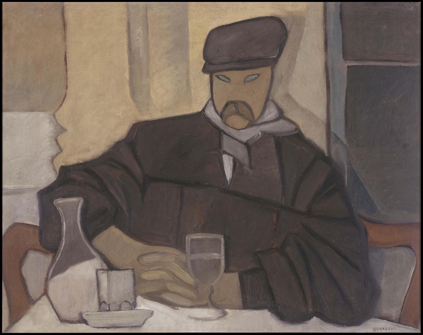 Hombre en el café (Atocha)