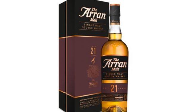 Isle of Arran estrena single malt de 21 años, Isle of Arran 21 Year Old
