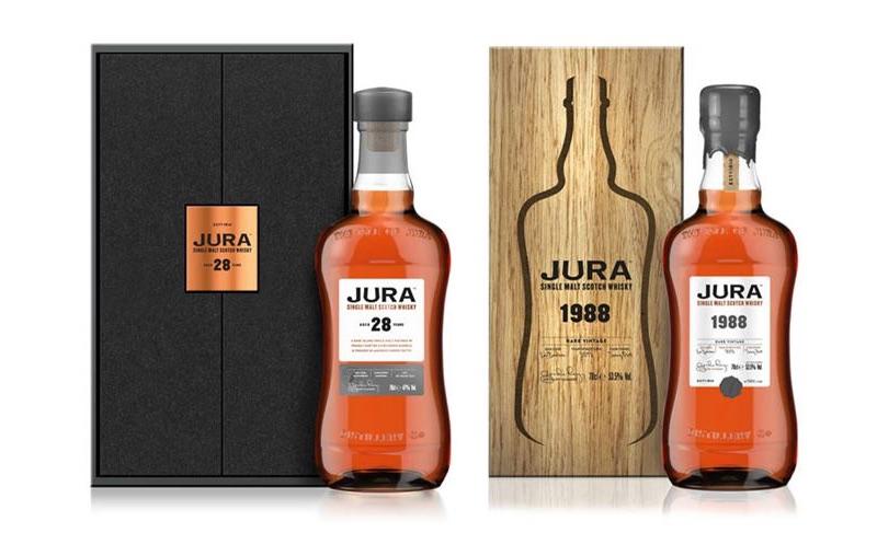 Jura lanza dos nuevos whiskies para su gama Prestige