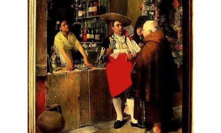 """Taberna andaluza"" (1873), de Luis Jiménez y Aranda"
