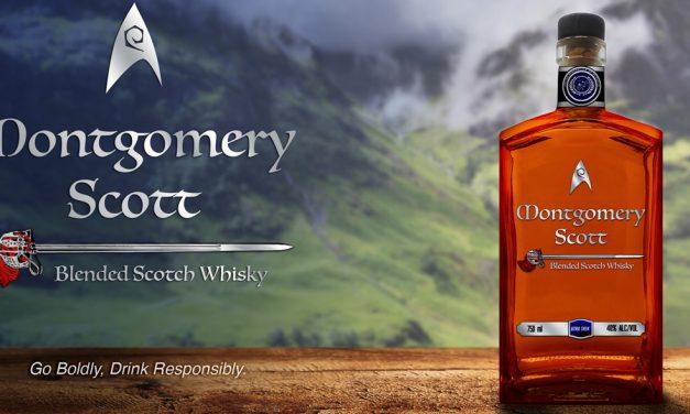 Silver Screen Bottling Company rinde homenaje a un personaje de Star Trek con Montgomery Scott Blended Scotch