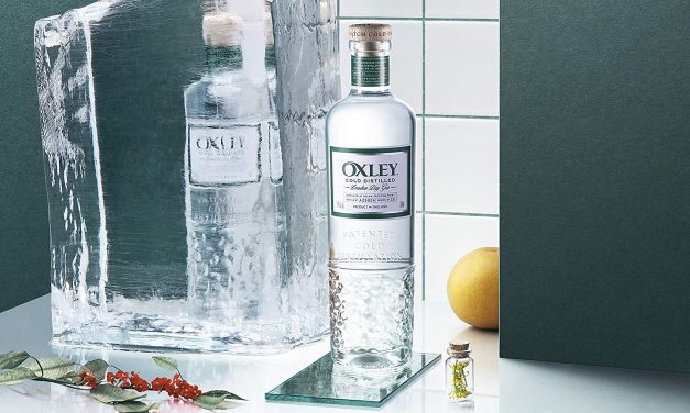 El nuevo diseño de Oxley Gin destaca el proceso de destilación bajo cero