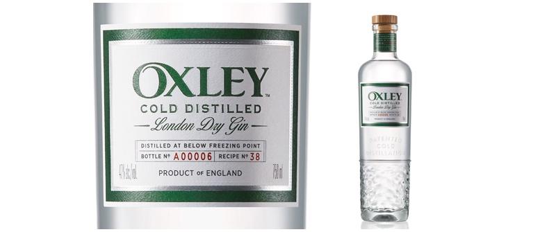 Oxley Gin crea un diseño de botella actualizado