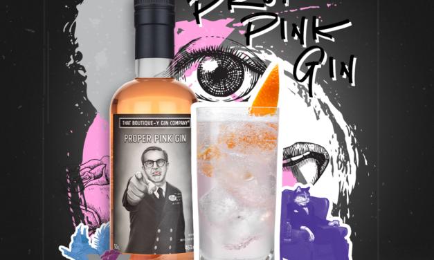 Boutique-y lanza Proper Pink Gin, inspirándose en una ginebra para prevenir el mareo
