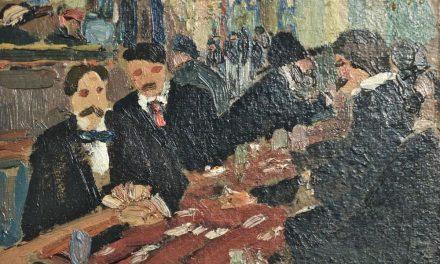 """""""Paris Café – Jeu de Cartes"""" (1908-1910), de Amadeo de Souza-Cardoso"""