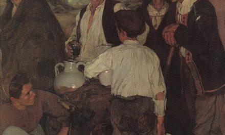 """""""El reparto del vino"""" (1900), de Ignacio Zuloaga"""