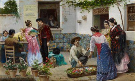"""""""Andaluces en una venta"""" (1898), de José Rico"""
