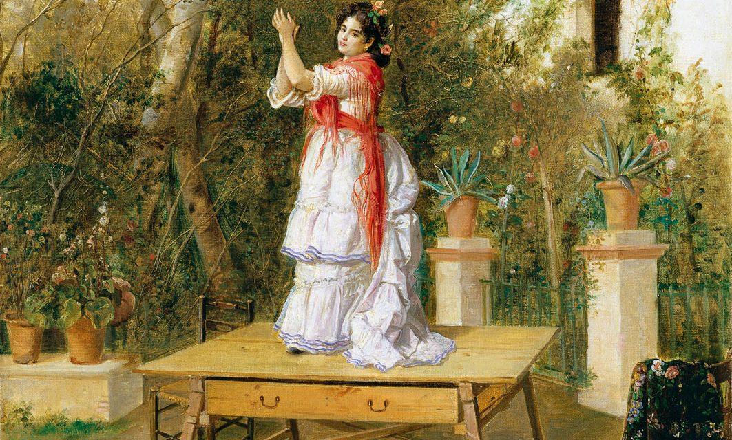 """""""Bailando"""" (1889), de Manuel Cabral Aguado Bejarano"""