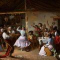 Baile en una venta (1850), de Rafael Benjumea