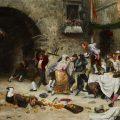 Banquete interrumpido (1901), de Juan José Gárate Clavero-1