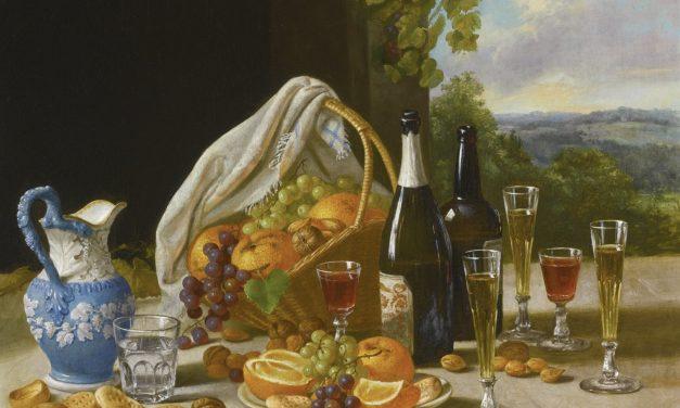 """""""Bodegón de almuerzo"""" (1860), de John F. Francis"""
