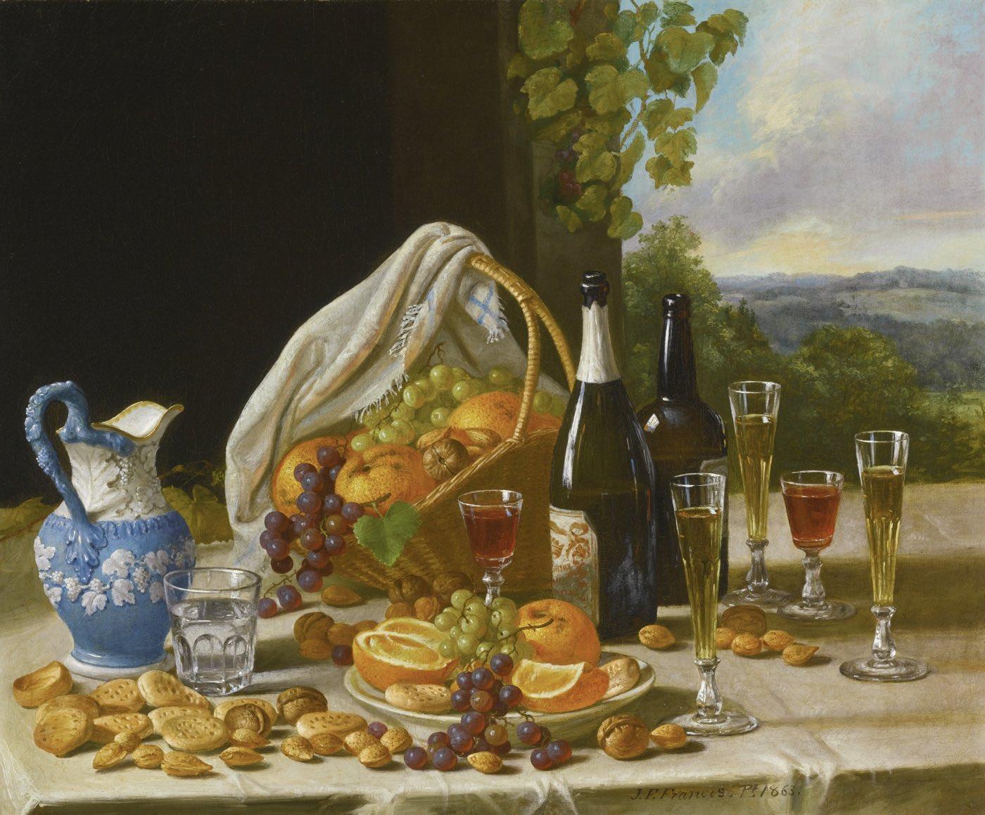Bodegón de almuerzo (1860), de John F. Francis