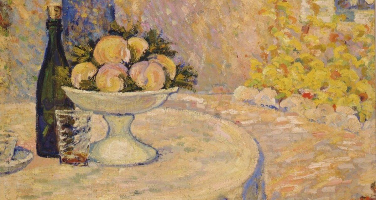 """""""Bodegón en el jardín"""" (1908), de Francis Picabia"""