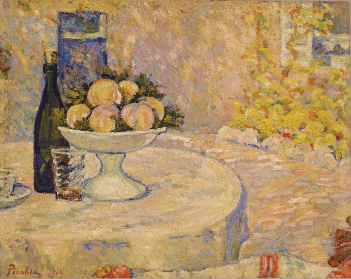 Bodegón en el jardín (1908), de Francis Picabia