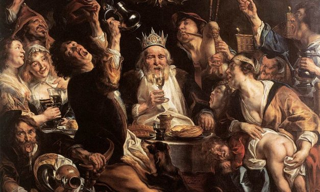 """""""El Rey bebe"""" (segunda mitad de siglo XVII), de Jacob Jordaens"""