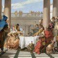 El banquete de Cleopatra (1743-1744), de Giovanni Battista Tiepolo