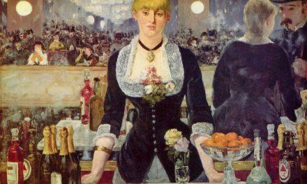 """""""El bar del Folies Bergère"""" (1881-1882), de Édouard Manet"""