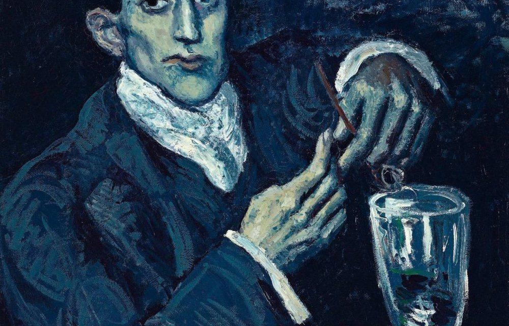 """""""El bebedor de absenta"""" (1902), de Pablo Picasso"""