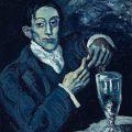 El bebedor de absenta (1902), de Pablo Picasso