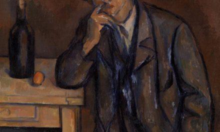 """""""El bebedor"""" (1891), de Paul Cezanne"""