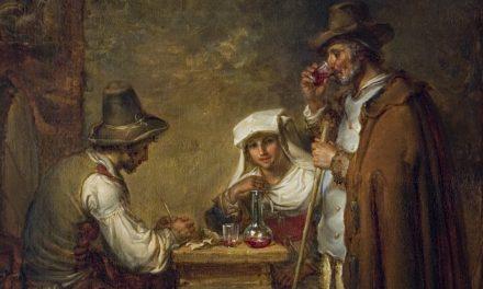 """""""El pastor"""" (1822), de Aleksander Lauréus"""
